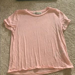 Light Pink Abercrombie & Fitch tee